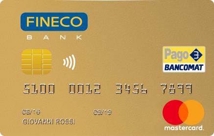 La semplicit si chiama fineco fineco bank for Carta di credito per minorenni