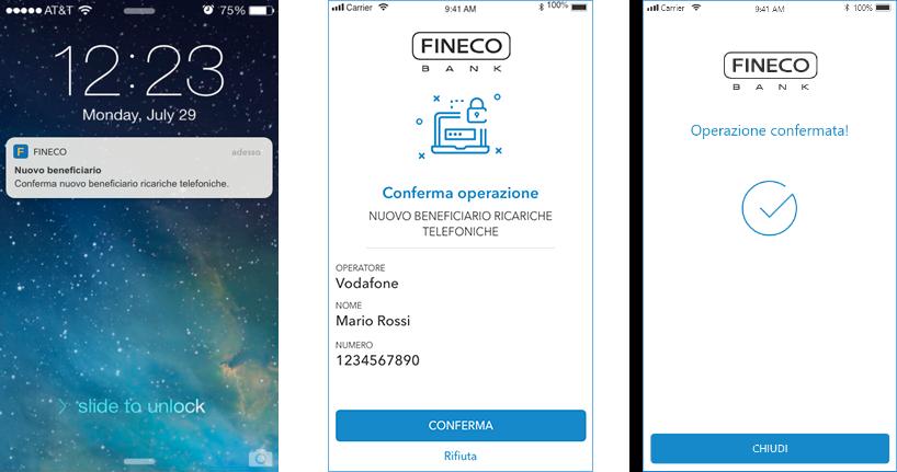 app fineco impronta digitale non funziona spot bitcoin trading