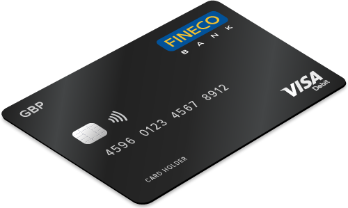 Fineco debit card