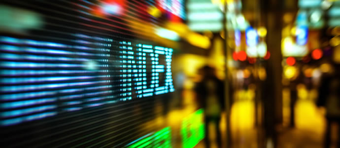 Trading technology with the Nasdaq index